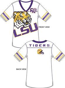 Emerson Street LSU Tigers Jersey Tunic