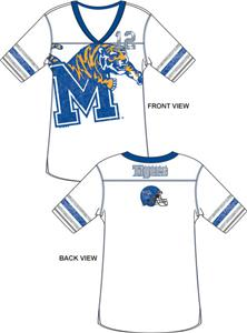Emerson Street Memphis Tigers Jersey Tunic
