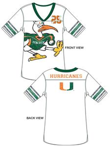 Emerson Street Miami Hurricanes Jersey Tunic