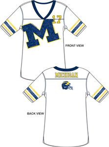 Emerson Street Michigan Wolverines Jersey Tunic