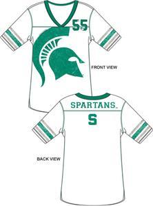 Emerson Street Michigan State Spartan Jersey Tunic