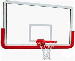 "Gared 3011RG 72"" Pro Outerlimit Glass Backboards"
