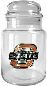 NCAA Oklahoma State Cowboys Glass Candy Jar