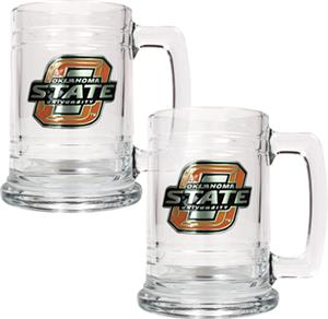 NCAA Oklahoma State Cowboys 15oz Glass Tankard