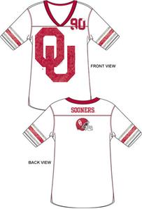 Emerson Street Oklahoma Sooners Jersey Tunic