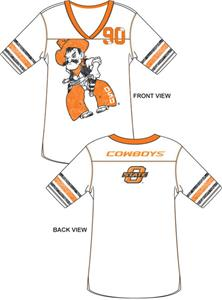 Emerson Street Oklahoma State Cowboys Jersey Tunic