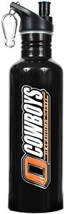 NCAA Oklahoma State Cowboys Black Water Bottle