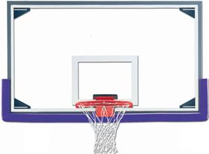 "Gared AFRG42CD Reg 72"" Glass / Alum Backboards"