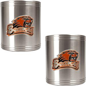 NCAA Oregon State Stainless Steel Can Holders