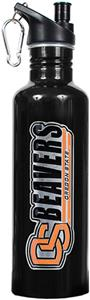 NCAA Oregon State Beavers Black Water Bottle