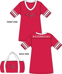 Arkansas Razorbacks Jersey Nightshirt