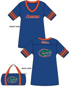 Emerson Street Florida Gators Jersey Nightshirt