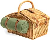 Picnic Time Somerset English-Style Picnic Basket