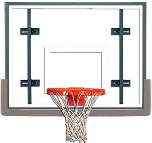 "Gared Conversion 54"" Glass Baskeball Backboard Pkg"