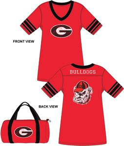 Emerson Street Georgia Bulldogs Jersey Nightshirt