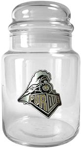 NCAA Purdue Boilermakers Glass Candy Jar