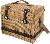 Picnic Time Yellowstone-Moka Handcrafted Basket