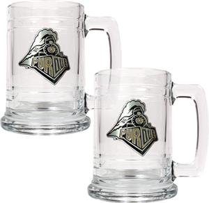 NCAA Purdue Boilermakers 15oz Glass Tankard