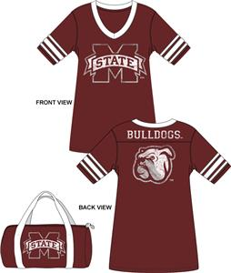 Mississippi State Jersey Nightshirt