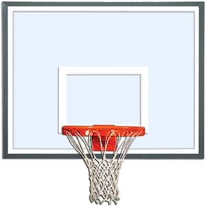 "Gared 3050 Specialty 54"" Glass / Steel Backboard"
