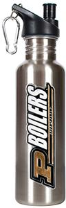 NCAA Purdue Boilermakers Stainless Water Bottle