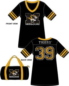 Emerson Street Missouri Tigers Jersey Nightshirt