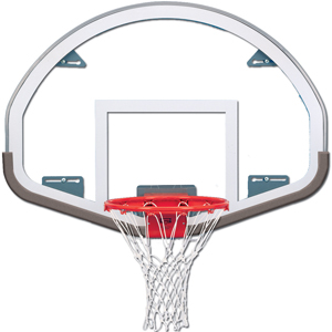"Gared FSGII Specialty 54"" Glass / Steel Backboard"