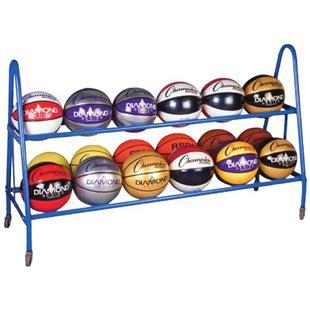 Champion Sports Basketball Carts (Holds 18 balls)