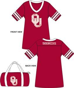 Emerson Street Oklahoma Sooners Jersey Nightshirt