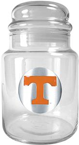 NCAA Tennessee Volunteers Glass Candy Jar