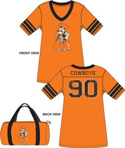 Emerson Street Oklahoma State Jersey Nightshirt