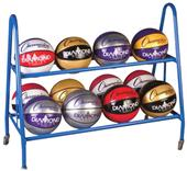 Champion Sports Basketball Cart (Holds 12 Balls)