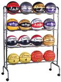 Champion Sports Basketball Cart (Holds 16 Balls)