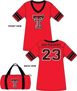 Emerson Street Texas Tech Jersey Nightshirt