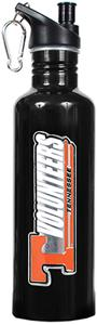 NCAA Tennessee Volunteers Black Water Bottle