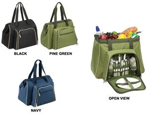 Picnic Time Toluca Deluxe Insulated Cooler Tote
