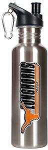 NCAA Texas Longhorns Stainless Water Bottle