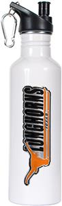 NCAA Texas Longhorns White Water Bottle