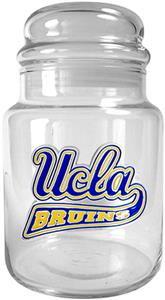 NCAA UCLA Bruins Glass Candy Jar