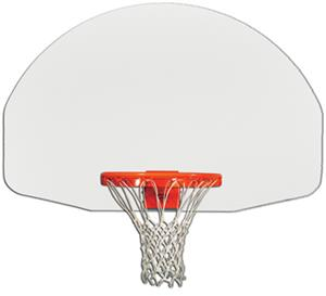 "Gared 1245 35"" x 54"" Fan Shape Steel Backboards"