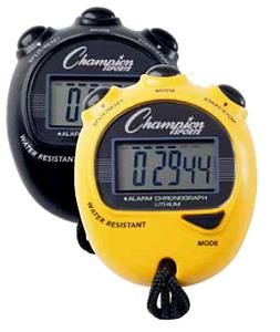 Champion Sports Big Digit Display Stopwatch