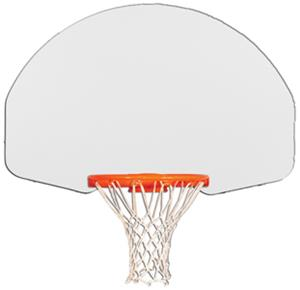 "Gared 1266 35"" x 54"" Fan Shape Steel Backboards"