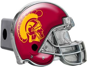 NCAA USC Trojans Helmet Trailer Hitch Cover