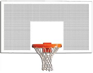 "Gared 1272PS 72"" Perforated Steel Backboards"