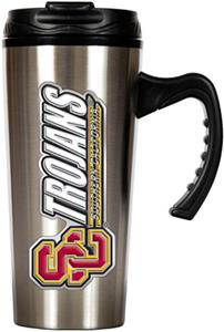NCAA USC Trojans 16oz Travel Mug