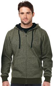 TRI MOUNTAIN MacArthur Hooded Full Zip Sweatshirt