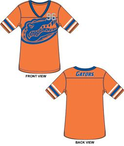 Florida Gators Jersey Color Tunic