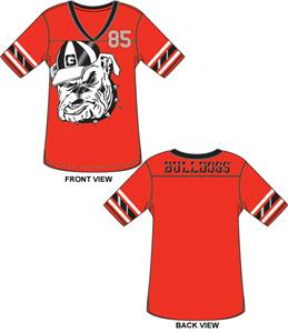 Georgia Bulldogs Jersey Color Tunic