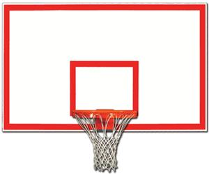 "Gared 1272B 42"" x 72"" Steel Rectangular Backboards"