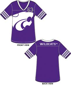 Kansas State Wildcats Jersey Color Tunic
